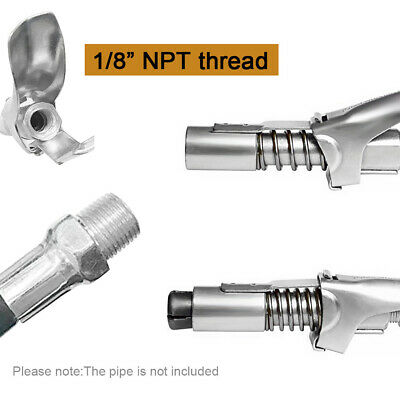 Oil Nozzle Gun Coupler Oil Leakage Grease Mouth Lock Pliers Self-Locking Connect