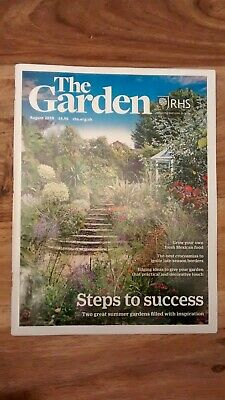 The Garden RHS Magazine August 2019 Crocosmias, edging ideas, grow Mexican food