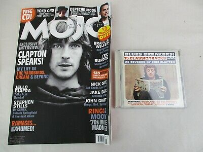 Mojo Magazine + CD May 2013 Eric Clapton John Grant Nick Cave Eric Burdon