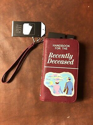 NEW Beetlejuice Handbook For The Recently Deceased Card Clutch Wallet Phone Case