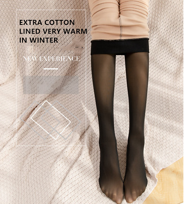 Women Magic Extra Thick Warm Winter  Lined Stretch Thermal Fleece Tights