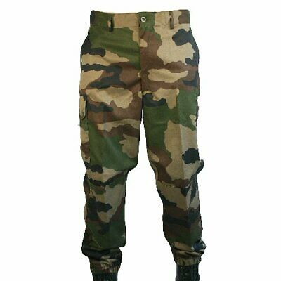 New Genuine French Army F2 Combat Trousers CCE Woodland Camo
