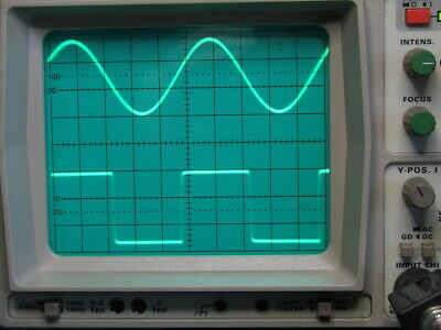 HAMEG HM303-4 30MHz oscilloscope, working unit  with probes and accessories