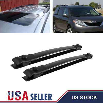 OEM TOYOTA SIENNA ROOF RACK END COVER DRIVER REAR 63494-08020 FITS 2011-2017