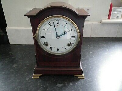 Lovely chiming bracket clock by W.L.Gilbert