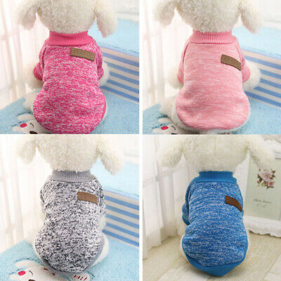 Pet Coat Dog Jacket Spring winter Clothes Puppy Cat Sweater Clothing Apparel-~GQ