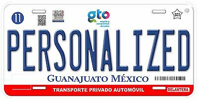 Guanajuato Mexico Any Name Number Novelty Auto Car License Plate C03
