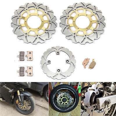 Honda CB 600 FX Hornet 1999 Brake Disc Pads Rear Goldfren S33 CC
