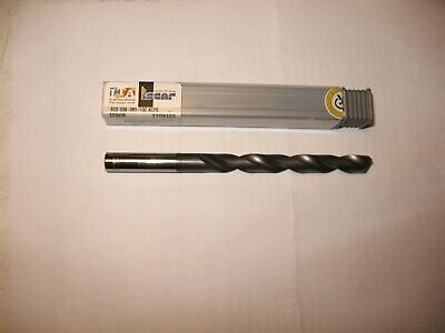 New Vhm Iscar Solid Carbide Spiral Drill D=9.8 Mm With Two Coolant Holes