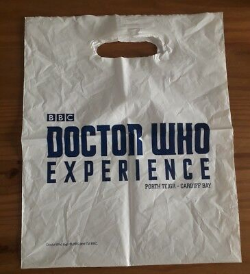 Doctor Who Experience (Cardiff Bay, now closed) - CARRIER BAG -- Good Condition!