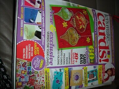 Let's Make Cards ! Magazines.  Issue 36