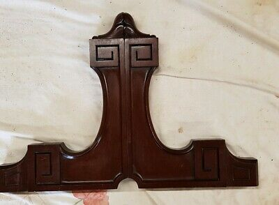 Pair of Victorian Mahogany Dressing Table Arms