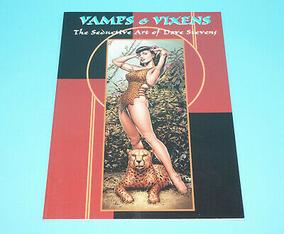 Vamps & Vixens The Seductive Art Of Dave Stevens Pin-Up Poster Art Collection