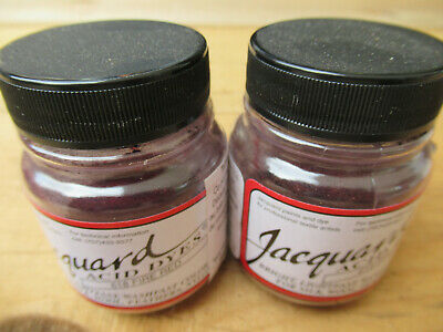 Jaquard ACID DYES Textilfarbe 618 Fire Red