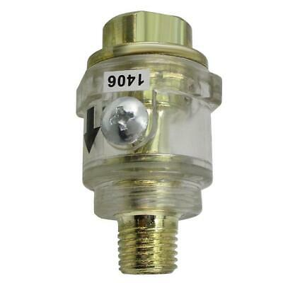 Hardware Automatic Mini In-line Oiler Lubricator for Air Pneumatic Tool #gib