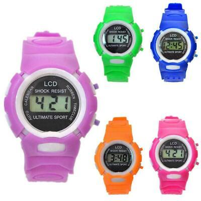 Kids Child Boy Girl Watch Multifunction Sports Electronic Watches Supply V3Q3