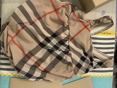 Authentic Burberry Swimming Costume 9-12 Months