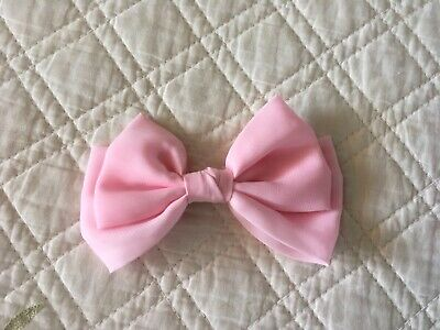 Claire's accessories pink clip bow