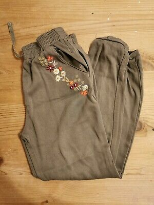 Marks And Spencers Girls Trousers 9-10