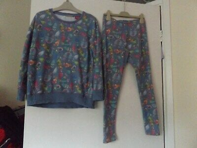 Next The Trolls girls outfit / set jumper and leggings aged 10 years