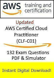 Amazon AWS Cloud Practitioner CLF-C01 (132 Exam Questions PDF Simulator->Email)