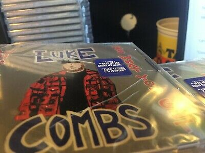 LOT OF 10 NEW (CRACKED CASES) Luke Combs What You See Is What You Get CD's