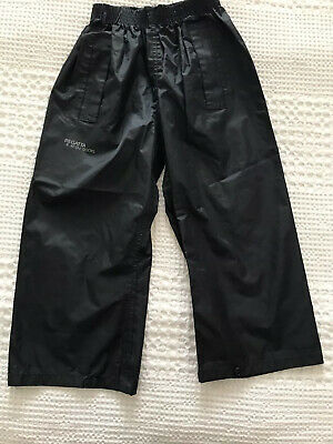 Waterproof Trousers Age 2 Regatta Navy Blue