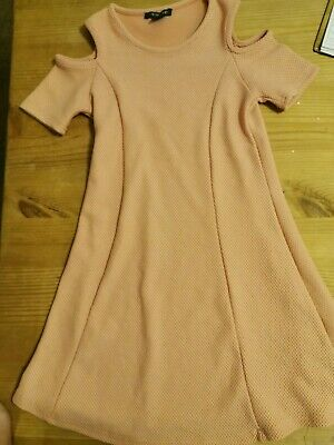 Primark Girls pink Dress Age 9-10 Years