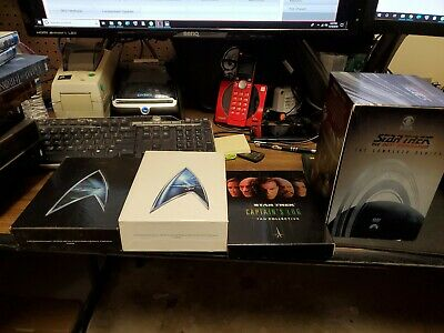 Star Trek: The Next Generation - The Complete Series movies DVD huge lot