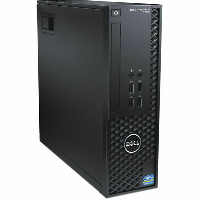 Dell Precision T1700 SFF Xeon E3-1246 V3 3.5Ghz 16Gb Ram 256Gb SSD Quadro Win 10