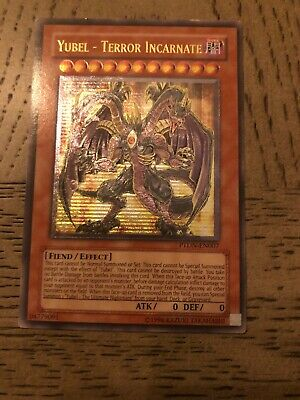 Yugioh Yubel - Terror Incarnate PTDN-EN007 Unlimited Ed Ultra Rare Near Mint