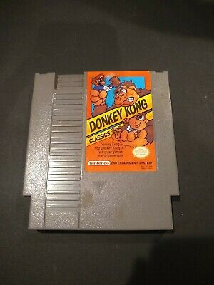 Donkey Kong Classics (1988) cartridge only, tested