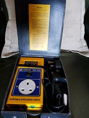 Seaward PAC 500 PAT Tester Portable Appliance Tester