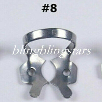 Dental Stainless Steel Rubber Dam Clamps Brinker Frame Template Restorative #8