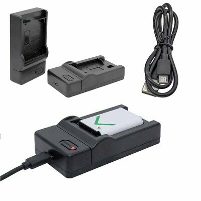 USB Battery Charger AC Adapter For Canon LP-E8 EOS 700D 650D 550D 600D NR7X
