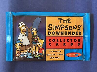 The Simpsons Card Packaging