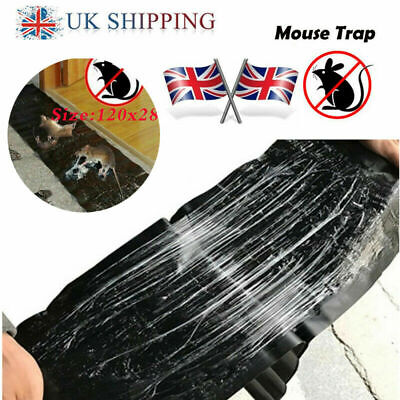 2PCS 1.2M Big Size Mice Mouse Traps Board Super Sticky Rat Snake Bugs Safe~UK
