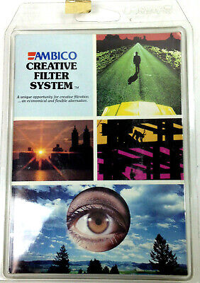 NOS Vintage AMBICO CREATIVE FILTER SYSTEM Made in USA 1980 Sealed