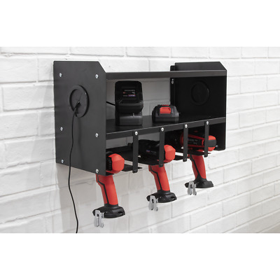 LAST FEW! Sealey Power Tool Storage Rack PTSR5 Wall Mounted Store upto 5 Tools