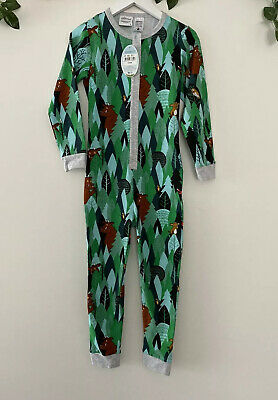 Peter Alexander Unisex The Gruffalo Jumpsuit Size 5 Years RRP$79.95
