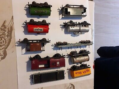Hornby dublo,selection of  10 Rolling Stock,new Old Stock