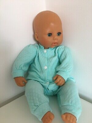 Rare  Zapf Creations D-96472 New Born Baby Speaking Doll 2009