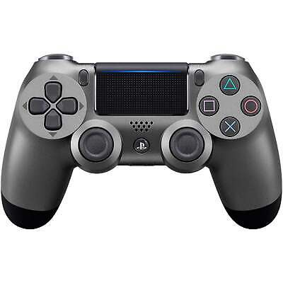 Sony Playstation 4 DualShock 4 Wireless Controller V2, Steel Black