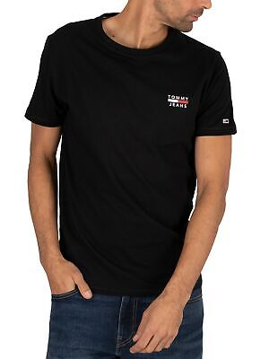 Tommy Jeans Men's Chest Logo T-Shirt, Black