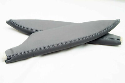 Armrest Door Panel Synthetic Leather for Honda Civic Coupe 06-11 Medium Gray