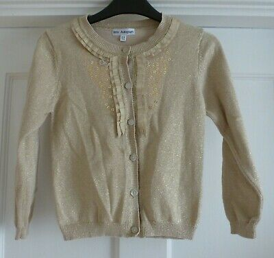 Girls Age 5-6yrs Gold Sparkle Cardigan by Autograph at Marks & Spencer