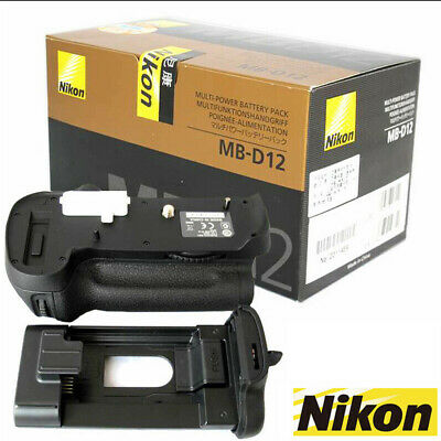 OEM Genuine MB-D12 Battery Grip For NIKON D800 D810 D810E Camera EN-EL15 New