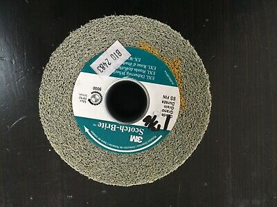 3M SCOTCHBRITE EXL DEBURRING WHEEL 4x1x1 13/16 8S fine