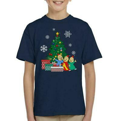 Alvin And The Chipmunks Around The Christmas Tree Kid's T-Shirt