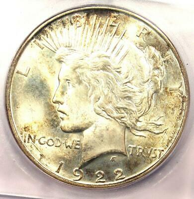 1922-D Peace Silver Dollar $1 Coin - Certified ICG MS66 - $1,620 Value!